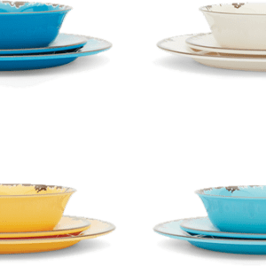 Dinnerware in 4 colors